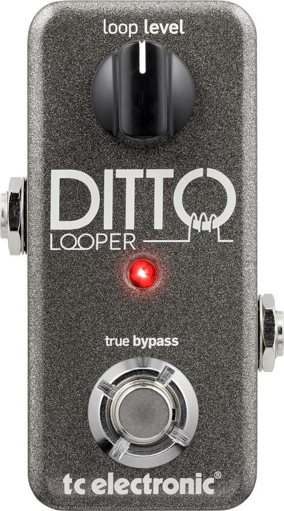 【送料込】tc electronic/t.c.electronic Ditto Looper ディトー・ルーパー ギタリスト用にデザインされたルーパー・ペダル【smtb-TK】