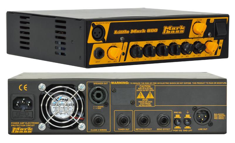 【送料込】Markbass/マークベース Little Mark 800(MAK-LM800) ベースアンプヘッド【smtb-TK】