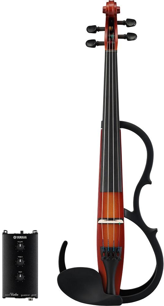 【送料込】YAMAHA/ヤマハ SV250 BR(ブラウン) サイレントバイオリン【smtb-TK】