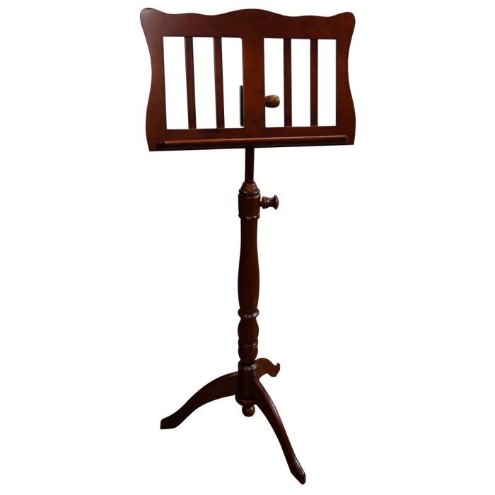 【送料込】KIKUTANI/キクタニ FS-0601/BRO(ブラウン) 木製譜面台 高級感のある家具調スタンド【smtb-TK】