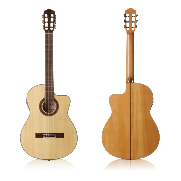【送料込】【ギグバッグ付】Cordoba/コルドバ GK Studio FISHMAN プリアンプ搭載 エレガット クラシックギター【smtb-TK】