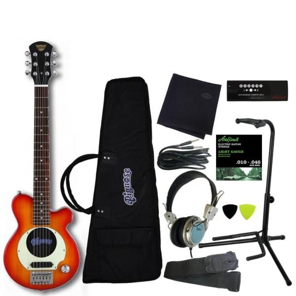 【送料込】【豪華10点セット】Pignose/ピグノーズ PGG-200 CS アンプ内蔵ギター【smtb-TK】