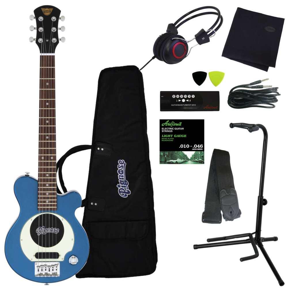 【送料込】【豪華10点セット】Pignose/ピグノーズ PGG-200 MBL アンプ内蔵ギター【smtb-TK】