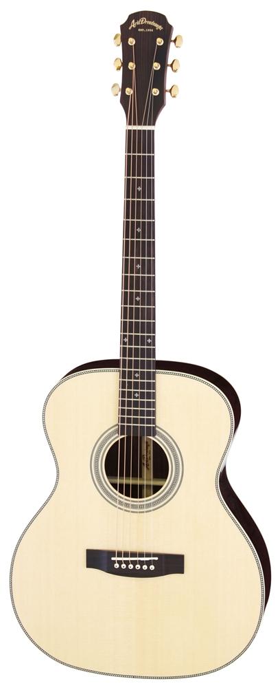【送料込】【ケース付】ARIA/アリア AF-505 N オール単板 アコースティックギター【smtb-TK】