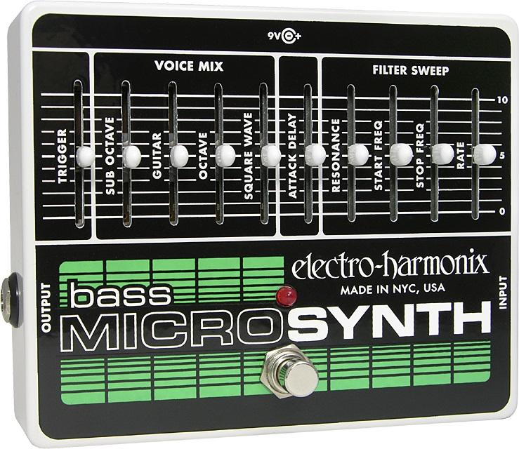 【送料込】【国内正規品】electro-harmonix/エレクトロハーモニックス Bass Micro Synthesizer ベース マイクロシンセ【smtb-TK】