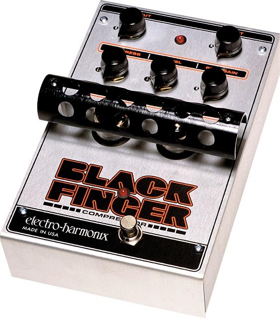 【送料込】【国内正規品】electro-harmonix/エレクトロハーモニックス Black Finger コンプレッサー【smtb-TK】