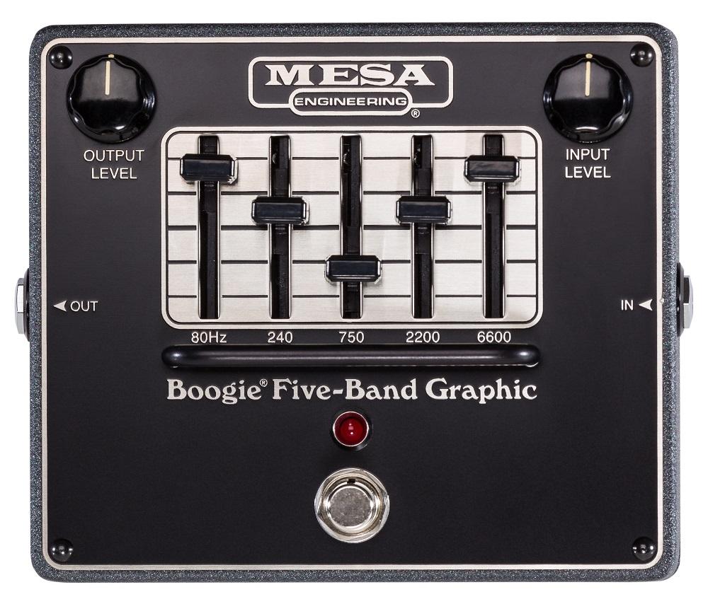 【送料込】MESA BOOGIE/メサブギー FIVE-BAND GRAPHIC EQ グラフィック イコライザー【smtb-TK】