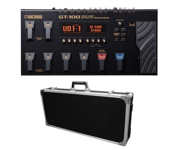 【送料込】【エフェクターケース/EC80BK付】BOSS/ボス GT-100 Version2.0 COSM Amp Effects ProcessorBOSSフロア・マルチ・シリーズ/フラッグシップ・モデル【smtb-TK】