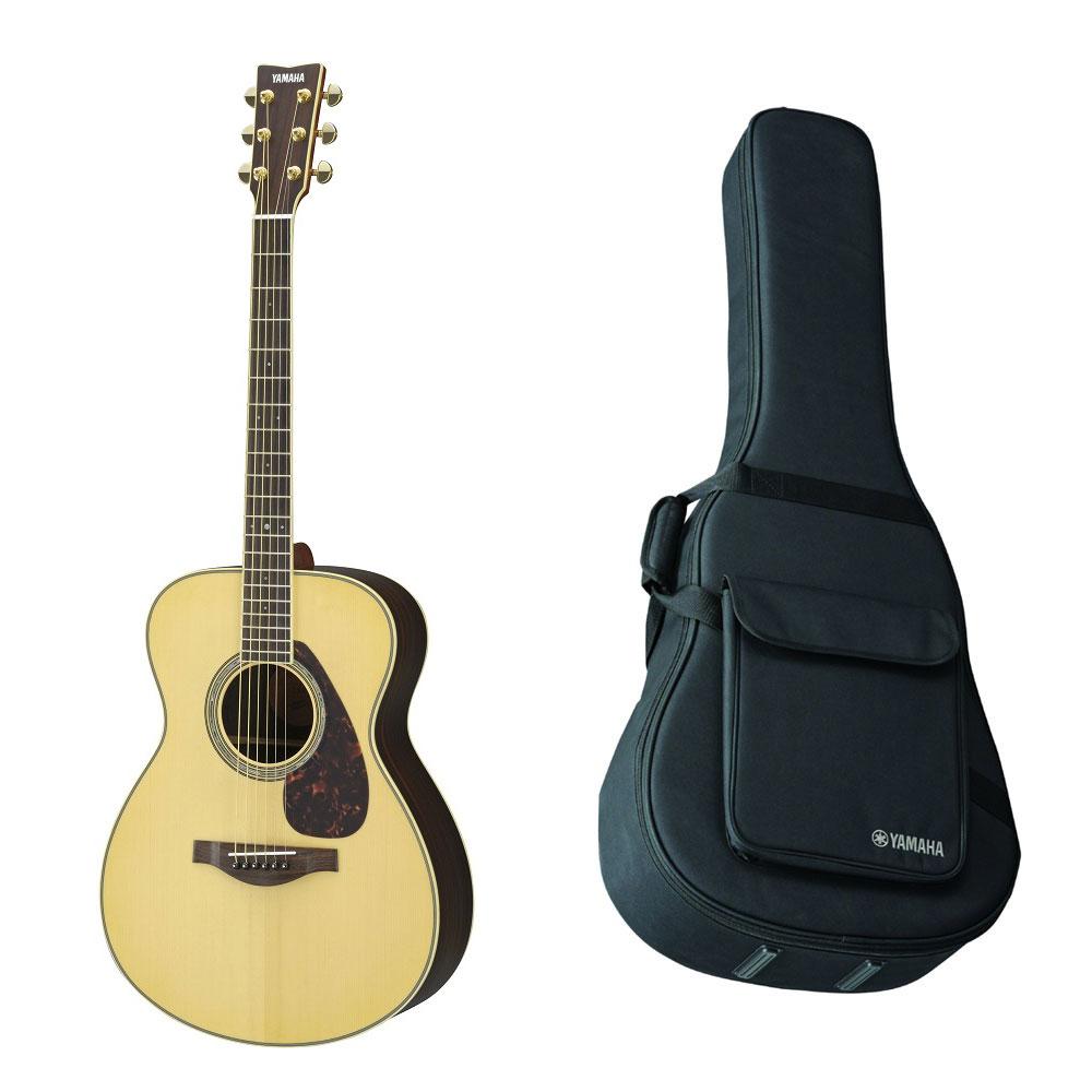 【送料込】【ライトケース付】YAMAHA/ヤマハ LS6 ARE アコースティックギター パッシブピックアップ搭載【smtb-TK】