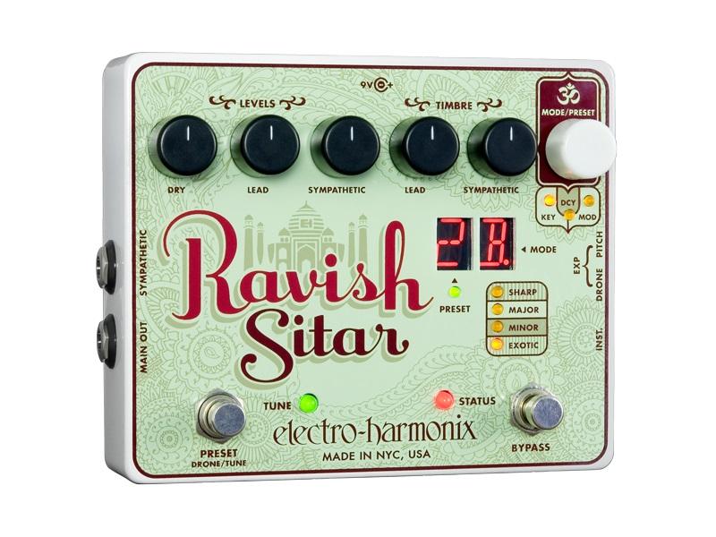 【送料込】【国内正規品】electro-harmonix/エレクトロハーモニックス RAVISH SITAR シタール エフェクト ペダル【smtb-TK】