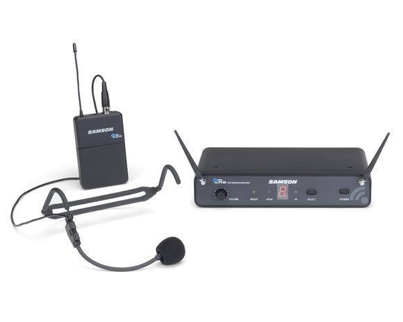 【送料込】SAMSON サムソン Concert 88 Headset ESWC88BHS5J-B 周波数可変式 ワイヤレスシステム w/ヘッドセットマイク【smtb-TK】