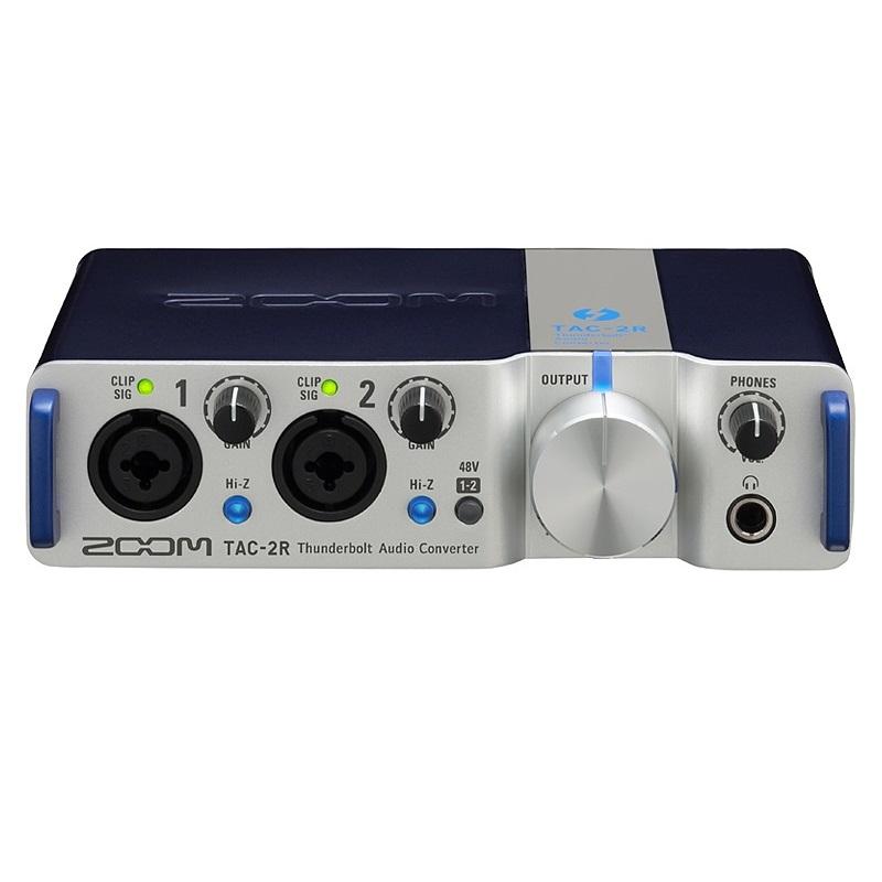 【送料込】ZOOM/ズーム TAC-2R Thunderbolt オーディオコンバーター【smtb-TK】