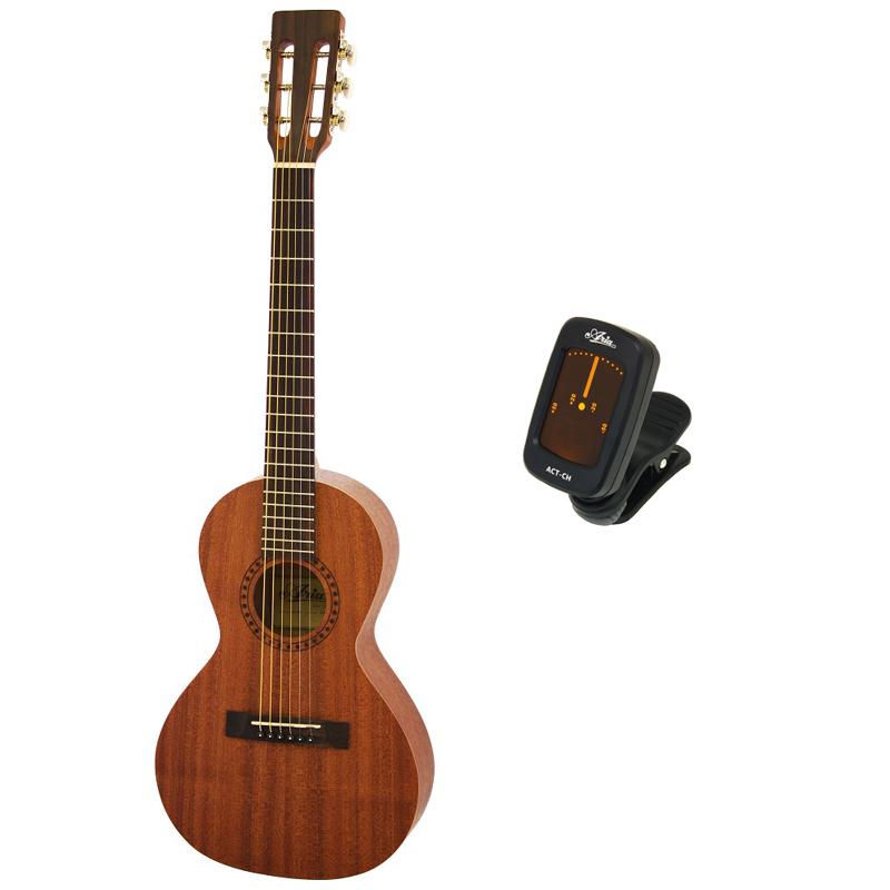 【純正クリップチューナーACT-CH付】ARIA/アリア ASA-18 パーラータイプ ミニギター 580mmスケール
