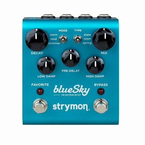 【送料込】Strymon/ストライモン blueSky Reverb ブルースカイ・リバーブ【smtb-TK】