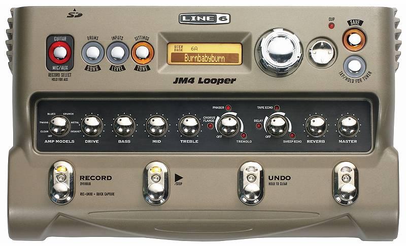 送料込 LINE6 ラインシックス 毎日激安特売で 営業中です JM4 Looper ルーパー キーボード入力可 ボーカル smtb-TK ベース ギター 新品