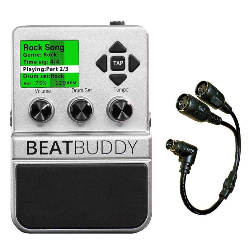 【送料込】【専用MIDI ケーブル付】Singular Sound BeatBuddy ギターペダル型ドラムマシン【smtb-TK】
