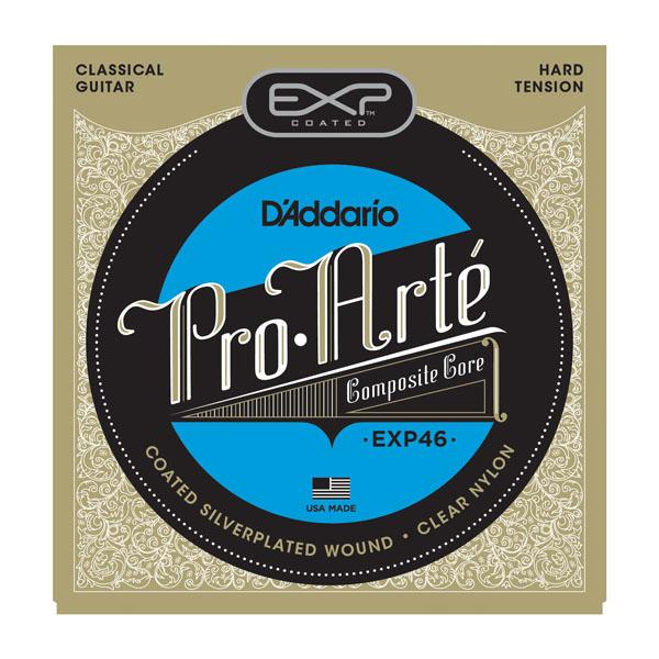 【メール便・送料無料・代引不可】D'Addario/ダダリオ EXP46×10セット EXPコーティングクラシックギター弦[ハードテンション]【smtb-TK】