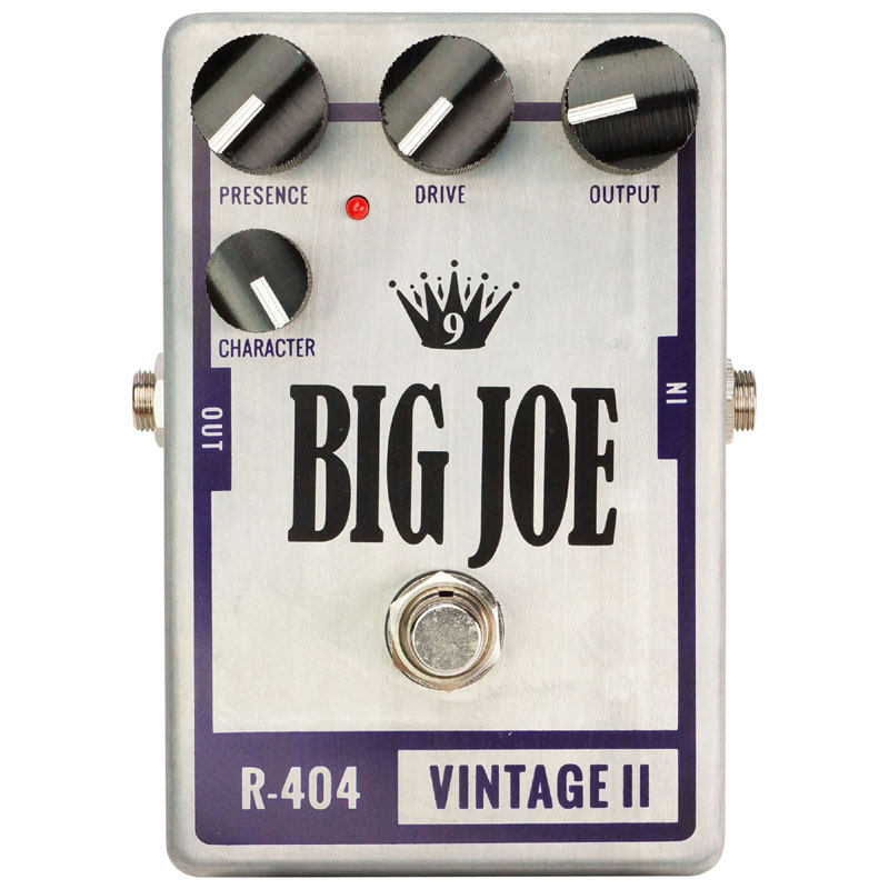 【待望★】 【送料込】BIG JOE/ビッグジョー R-404 R-404 VINTAGE VINTAGE II オーバードライブ/ディストーション II【smtb-TK】, 輸入セレクトショップハートランド:a91088e7 --- canoncity.azurewebsites.net