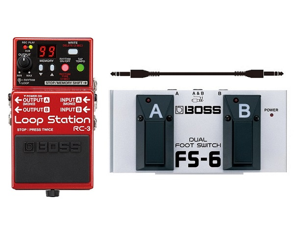 【送料込】【フットスイッチ/FS-6+接続ケーブル付】BOSS/ボス RC-3 ループ・ステーション【smtb-TK】
