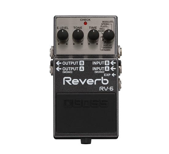 【送料込】BOSS/ボス RV-6 Reverb 高音質リバーブ・ペダル【smtb-TK】