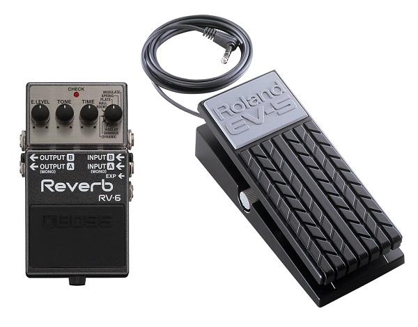 【送料込】【エクスプレッションペダル/EV-5付】BOSS/ボス RV-6 Reverb 高音質リバーブ・ペダル【smtb-TK】