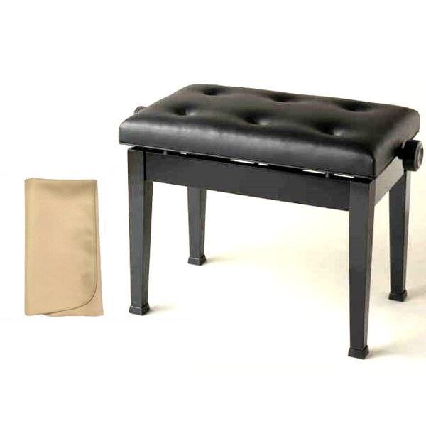 【お手入れクロスプレゼント!!】【送料込】ITOMASA/イトマサ AE(ブラック) ピアノイス/ピアノ椅子 高低自在椅子【smtb-TK】