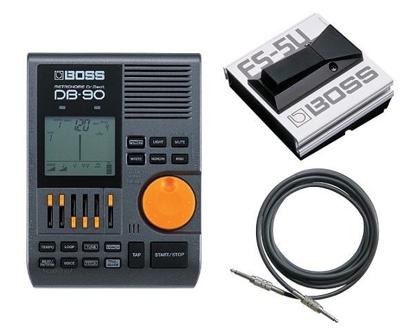 【送料込】【フットスイッチ/FS-5U+接続ケーブル付】BOSS Dr.Beat DB-90 ボス リズム・コーチ機能搭載ドクター・ビート最上位モデル/Roland【smtb-TK】