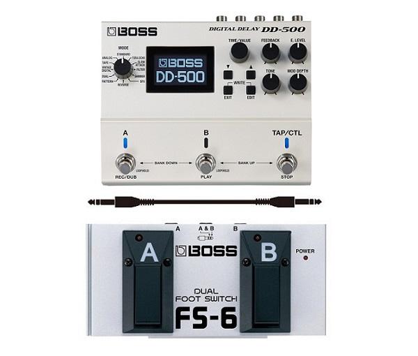 【送料込】【フットスイッチ/FS-6+接続ケーブル付】BOSS/ボス DD-500 すべてを究めたディレイ・ペダル【smtb-TK】