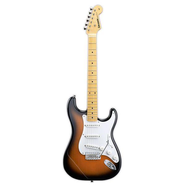 【送料込】edwards/エドワーズ E-ST-125ALM 2 Tone Sunburst ストラトタイプ エレキギター【smtb-TK】