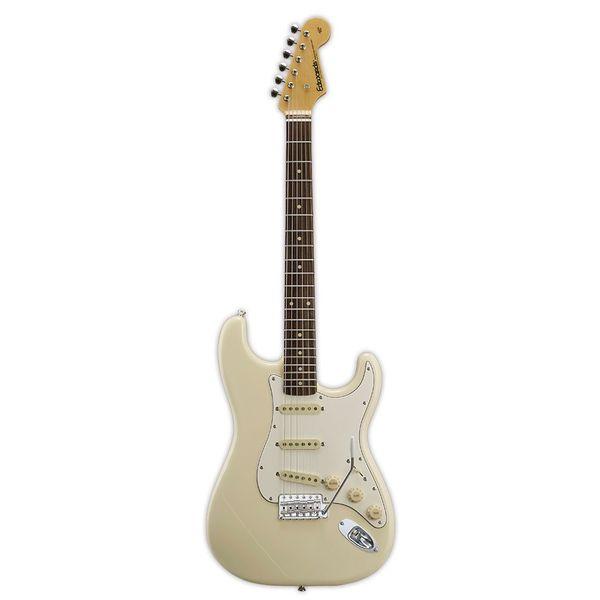 【送料込】edwards/エドワーズ E-ST-125ALR Vintage White ストラトタイプ エレキギター【smtb-TK】
