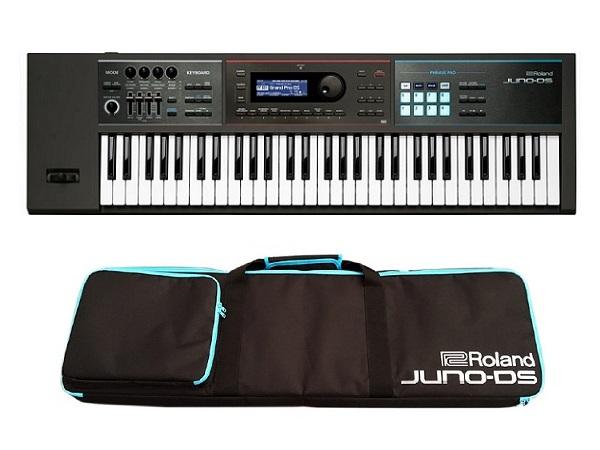 【特典付】【送料込】【背負える専用ソフトケース付】Roland/ローランド JUNO-DS61 Simply Creative 「高音質」「軽量」「簡単操作」【smtb-TK】