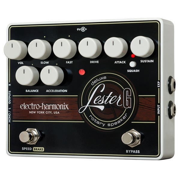 【送料込】【国内正規品】electro-harmonix/エレクトロハーモニックス Lester G Deluxe Rotary Speaker【smtb-TK】