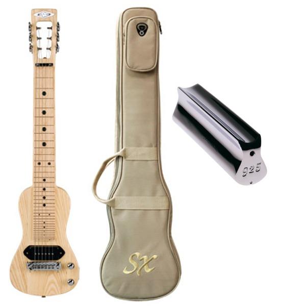【送料込】【ダンロップスライドバー付】SX LG2/NA ラップスチールギター【smtb-TK】
