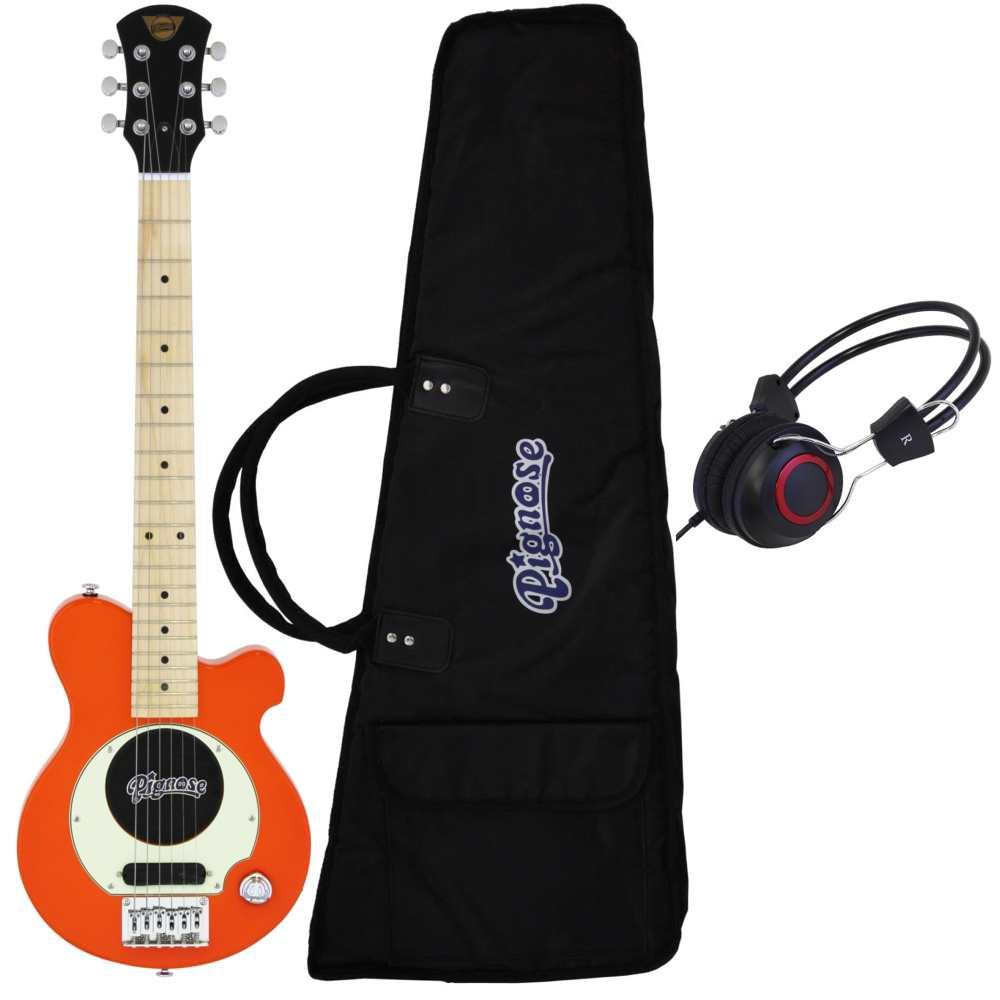 【送料込】【ヘッドホン付】Pignose ピグノーズ PGG-200 OR アンプ内蔵ギター【smtb-TK】