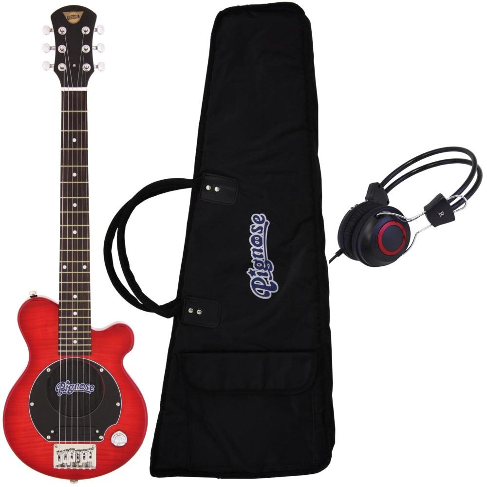 【送料込】【ヘッドホン付】Pignose ピグノーズ PGG-200/FM SR アンプ内蔵ギター【smtb-TK】