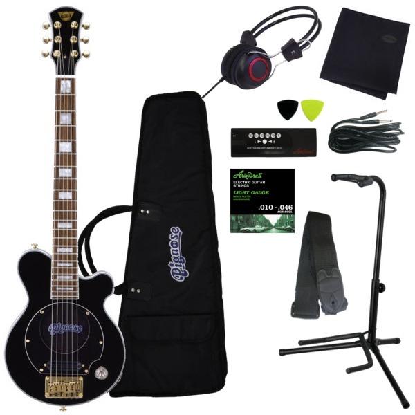 【送料込】【豪華10点セット】Pignose アンプ内蔵エレキギター PGG-259 BK(ブラック)【smtb-TK】