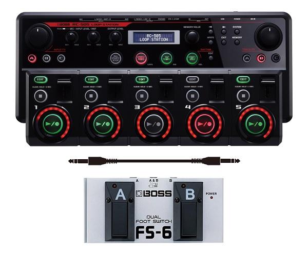 【送料込】【フットスイッチ/FS-6+接続ケーブル付】BOSS/ボス RC-505 大好評LOOP STATION RCシリーズのテーブルトップ・モデル【smtb-TK】