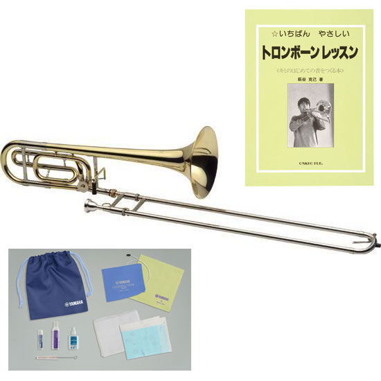 17 points of set tenor bass trombones with J Michael/J Michael TB-650L  Yamaha care set + manual