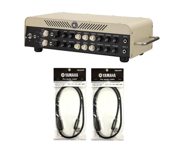 【送料込】【純正スピーカーケーブル*2本付】YAMAHA/ヤマハ THR100H Dual/THR100HD 2台のアンプをミックスして音作りができる「デュアルアンプ」機能を搭載【smtb-TK】