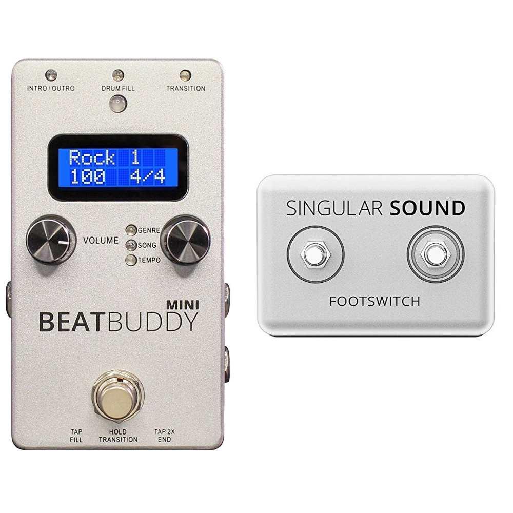 【送料込】【専用フットスイッチ付】Singular Sound BeatBuddy Mini ギターペダル型ドラムマシン【smtb-TK】