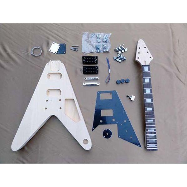 【送料込】HOSCO ホスコ ER-KIT-FV エレキギター/FVタイプ 組み立てキット ★難易度:中【smtb-TK】