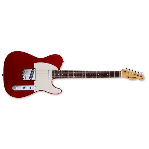 【送料込】edwards エドワーズ E-TE-98CTM Candy Apple Red テレキャス タイプ エレキギター 【smtb-TK】
