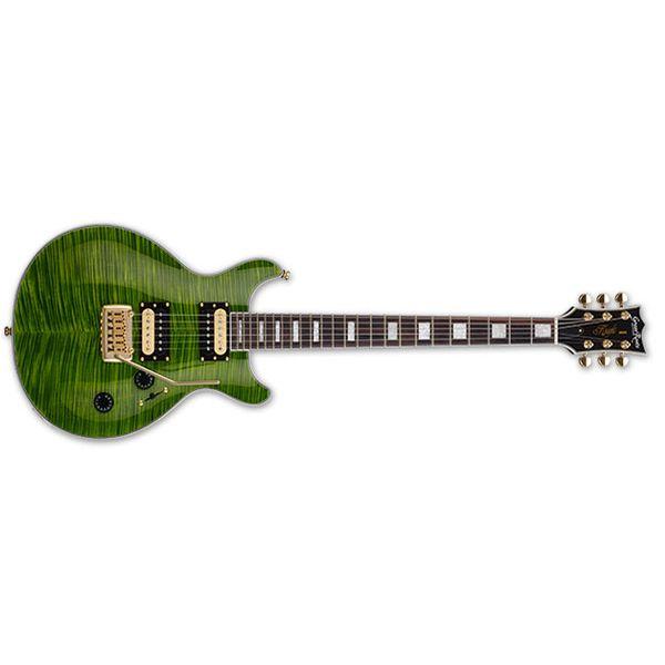 【送料込】GrassRoots グラスルーツ G-KT-60C See Thru Green エレキギター 【smtb-TK】