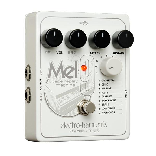 【送料込】【国内正規品】electro-harmonix エレクトロハーモニックス MEL9 Tape Replay Machine Mellotron エミュレートペダル【smtb-TK】