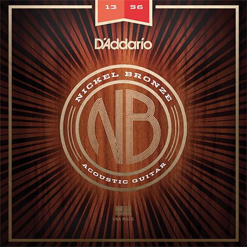 【メール便・送料無料・代引不可】【10セット】D'Addario ダダリオ NB1356 ニッケルブロンズ Medium アコースティックギター弦【smtb-TK】