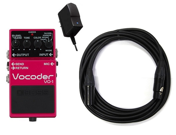 【送料込】【純正ACアダプター+CANAREマイクケーブル付】BOSS ボス VO-1 Vocoder ボコーダー ギターとベースに新たな表現力を【smtb-TK】