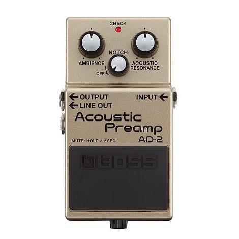【送料込】BOSS ボス AD-2 Acoustic Preamp【smtb-TK】