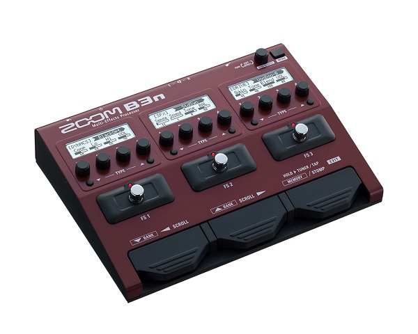【限定ZOOMピック2枚付】【送料込】【ACアダプター付属】ZOOM ズーム B3n B3next Multi-Effects Processor for Bass【smtb-TK】