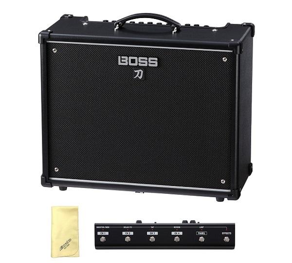 【送料込】【愛曲クロス付】【フットコントローラー/GA-FC付】BOSS ボス KATANA-100 KTN-100 Guitar Amplifier BOSSフラッグシップの技を継承する切れ味鋭い本格的ロック・サウンド【smtb-TK】