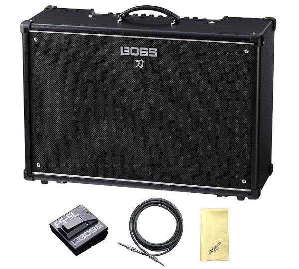 【送料込】【愛曲クロス付】【フットスイッチ/FS-5L+接続ケーブル付】BOSS ボス KATANA-100/212 KTN-100/212 Guitar Amplifier BOSSフラッグシップの技を継承する切れ味鋭い本格的ロック・サウンド【smtb-TK】